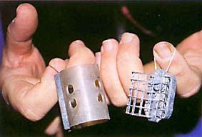 сетчатая кормушка на толстолоба