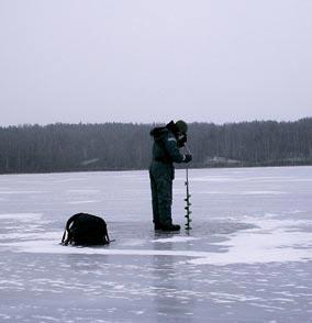 Выбрал место для рыбалки именно тут