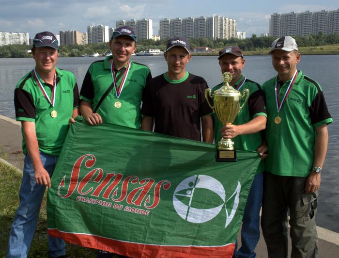 чемпионы москвы по рыбной ловле