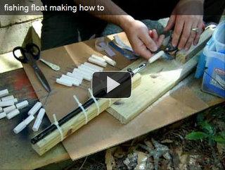 Изготовление поплавков своими руками