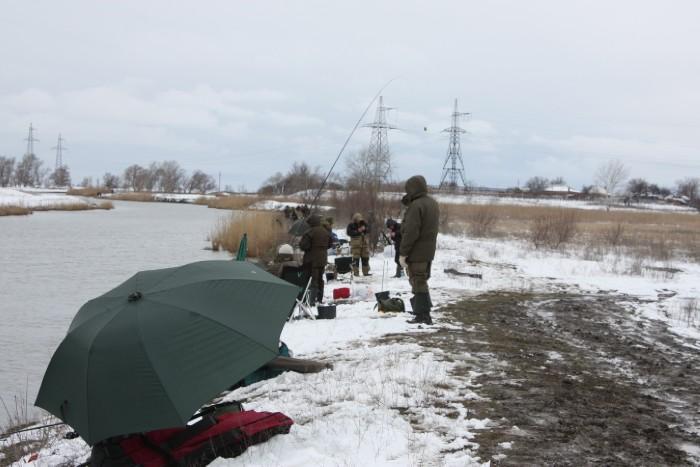 ловля в новочеркасске на теплом канале
